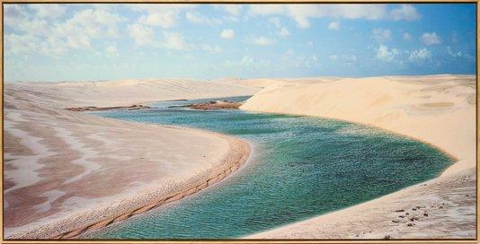 Impressão em Canvas - Lençóis Maranhenses 91 CM x 180 CM