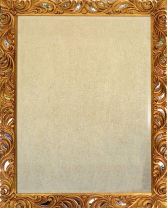 Moldura Dourada Entalhada 138 CM x 110 CM