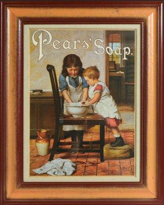 Quadro Decorativo Pronto Pears Soap