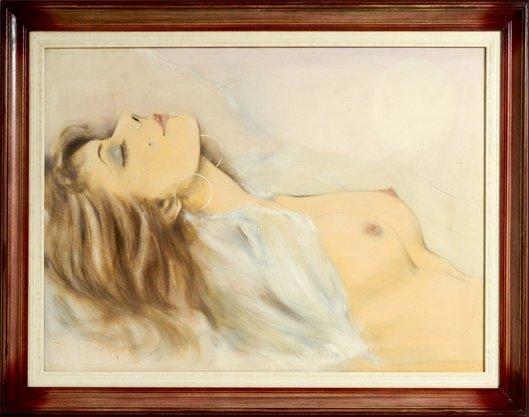 Quadro Decorativo Pronto Tela Sensualidade Feminina 95 CM x 125 CM