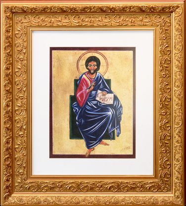 Quadro Pronto - Jesus Cristo 72 CM x 62 CM