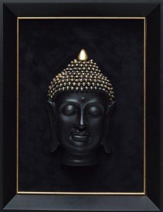 Quadro Pronto - Rosto Indiano 43 CM x 33 CM