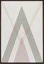 Impressão em Canvas - Abstrato Triângulo Vertical 72 CM x 50 CM