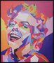 Impressão em Canvas - Marilyn Monroe - 80,5 CM x 69.5 CM